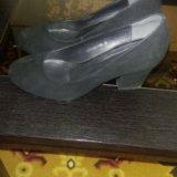 Туфли женские, замша, размер39. Фото 2. Усть-Кут.