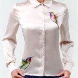 Шёлковая блуза. Фото 1.