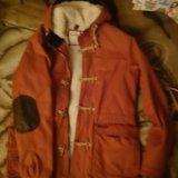 Куртка парка pull and bear муж. Фото 1. Ржавки.