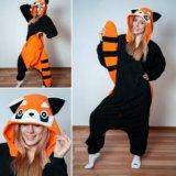 Пижама кигуруми енот (красная панда). Фото 1.