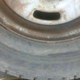 Зимняя резина с дисками. Фото 1.