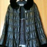 Куртка кожанная , утеплённая. Фото 2. Санкт-Петербург.