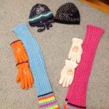 Шарфы, перчатки, шапки. Фото 1. Москва.