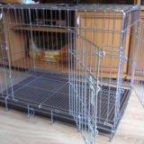 Вольер-клетка для собаки. Фото 1.