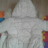 Куртка зимняя на девочку. Фото 1.