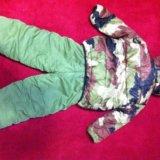 Детский зимний комбинизон. Фото 1.