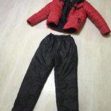 Куртка зимняя (пуховик) adidas+штаны зимние adidas. Фото 1. Саратов.