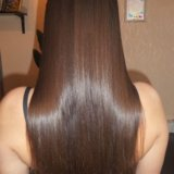 Кератиновое выпрямление волос. Фото 1. Санкт-Петербург.