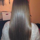 Кератиновое выпрямление волос. Фото 2.