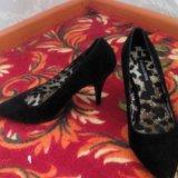 Замшевые туфли. Фото 2. Омск.