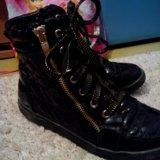 Ботинки для девочки. Фото 2.