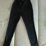 Штаны джинса(тянется) новые. Фото 1.