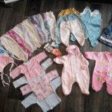 Детская одежда пакетом  от 0 до 6 месяцев. Фото 1. Чебоксары.