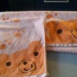 Комплект из 2-х детских полотенец. Фото 1.