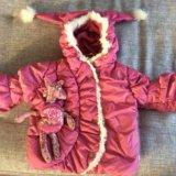Куртка зимняя orby для девочки. Фото 1.