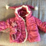 Куртка зимняя orby для девочки. Фото 3.