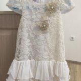 Платье с гипюром. Фото 1.