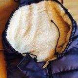 Зимний конверт с коляску на овчине. Фото 3.
