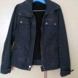 Куртка джинсовая размер 44-46. Фото 1.