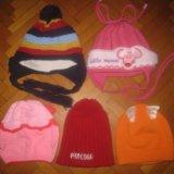 Детские шапки. Фото 1.