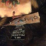 Норковая повязка на голову или на шею. Фото 3.