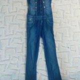 Комбинезон джинсовый. Фото 1. Невинномысск.