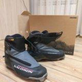 Лыжные ботинки solomon. Фото 1.