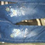 Детские джинсы р-р 104-110. Фото 1.