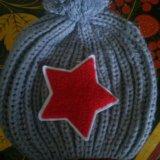 Детская шапка новая. Фото 1.