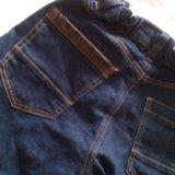 Теплые джинсы на мальчика. Фото 1.