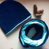 Комплект шапка и снуд. Фото 1. Иркутск.