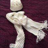 Шапочка с шарфиком новые. Фото 4. Санкт-Петербург.