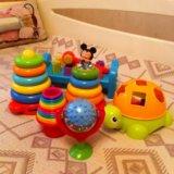 Детские игрушки б/у, состояние новых, комплектом. Фото 1.