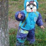 Детский комбинезон трансформер 56-80 осень - весна. Фото 1.