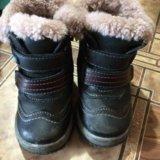 Тёплые ботинки. Фото 1.