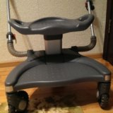 Подножка (подставка) к коляске для второго ребенка. Фото 3.