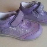 Новые осенние ботинки для девочки. Фото 1.