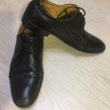 Ботинки кожаные alberto rocci. Фото 1.