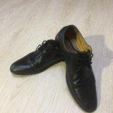 Ботинки кожаные alberto rocci. Фото 2.