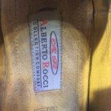 Ботинки кожаные alberto rocci. Фото 3.