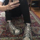 Новые кожаные кросоовки. Фото 2. Санкт-Петербург.