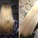 Наращивание волос. Фото 2. Саяногорск.