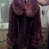 Мутоновая шубка. Фото 1. Омск.