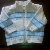 Теплые кофты свитера на мальчика. Фото 2.