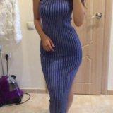 Платье с люрексом. Фото 2.