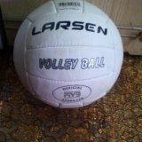 Мяч кожаный. Фото 1.