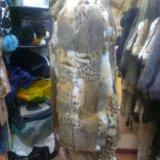 Шуба из меха рыси. Фото 3.