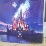 Баннер  замок disney для фото зоны. Фото 1. Омск.