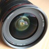 Объектив canon 17-40 mm f4 l usm. Фото 2.