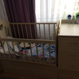 Кроватка-трансформер детская annette makaby. Фото 4.